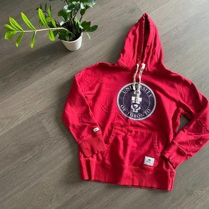 Roots Red University of Toronto Hoodie with Logo